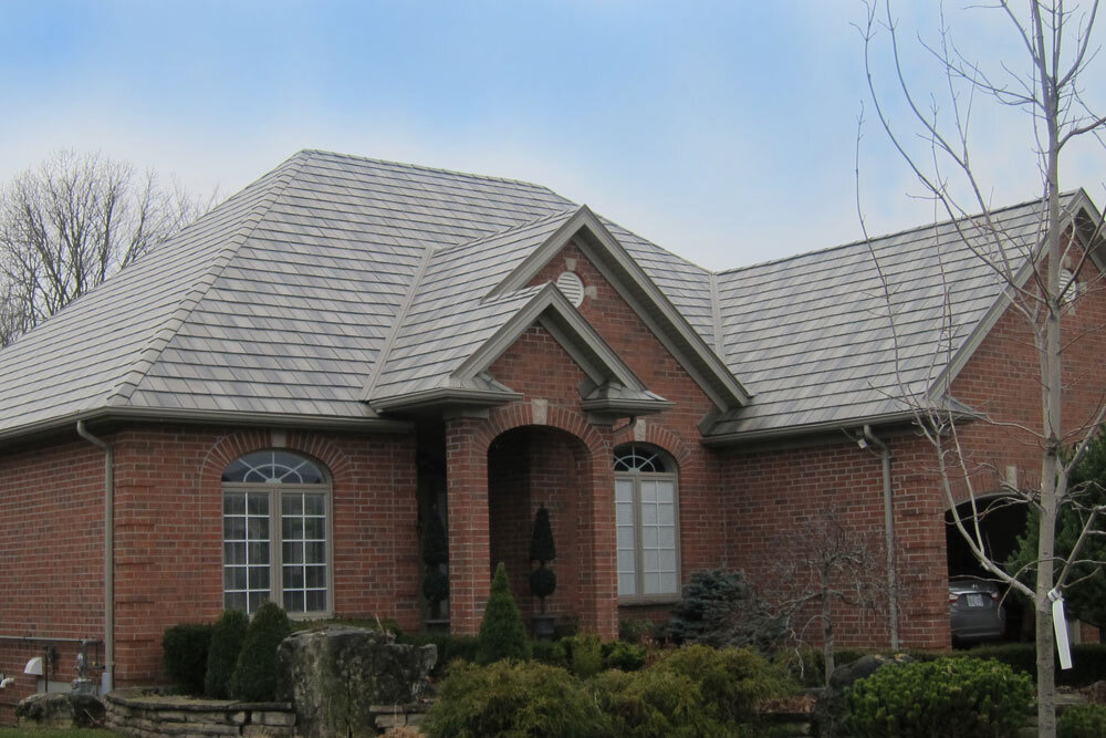 Brick House With Metal Roof Pictures To Pin On Pinterest